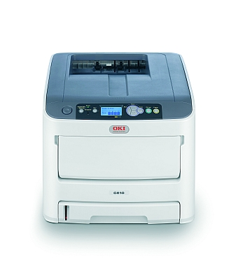 Image of an OKI C610 Printer