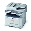 Image of a OKI MB451dnw Multifunction Printer 3/4 View