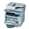 Image of a OKI MB461 Multifunction Printer with Multipurpose Tray Open
