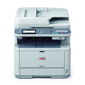 Image of an OKI MB471 Printer