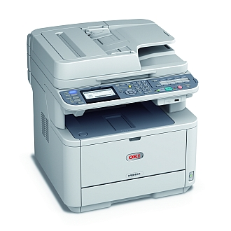 Image of an OKI MB491 Printer