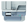 Image of a OKI MC352dn Multifunction Printer Panel Close Up