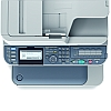 Image of a OKI MC562dn Multifunction Printer Panel Close Up