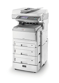 OKI MC851cdxn A3 Colour Multi-function LED Printer (Category A3 Colour Multi-function Laser Printers and LED Printers)