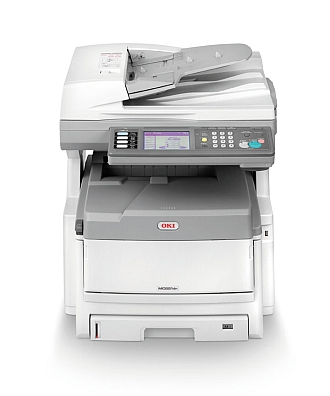 Image of an OKI MC851 Printer