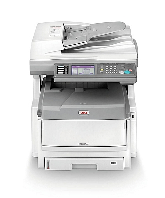 Image of an OKI MC861 Printer