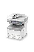 Image of a OKI MC861 A3 Colour Multifunction Printer Top