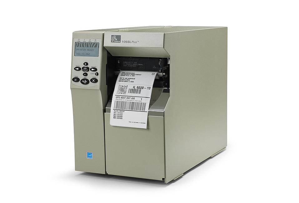 Zebra 105SLPlus Printer - Thermal Barcode Printer 102-80E-00000 103