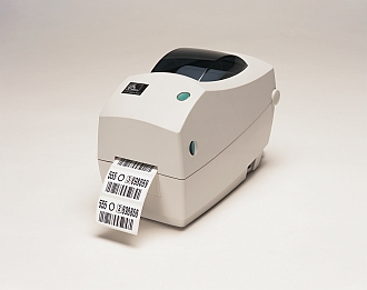 Image of a Zebra 2824 Plus Desktop Printer