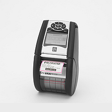 Image of a Zebra QLn220 barcode label, receipt and ticket printer