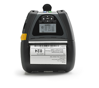 Image of a Zebra QLn420 Mobile Printer