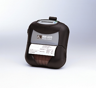 Image of a Zebra RW420 Mobile Thermal Printer