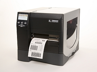 Image of a Zebra ZM600 Printer
