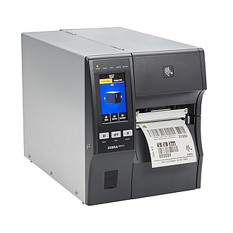 Image of a Zebra ZT411 Industrial Printer