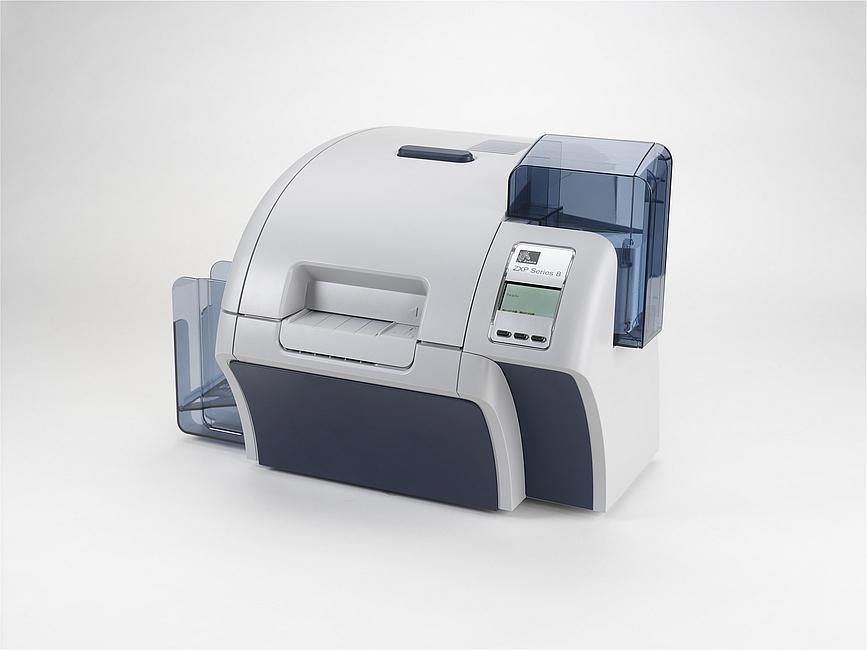 Zebra ZXP Series 8 Card Printer - Single Side and Dual Side