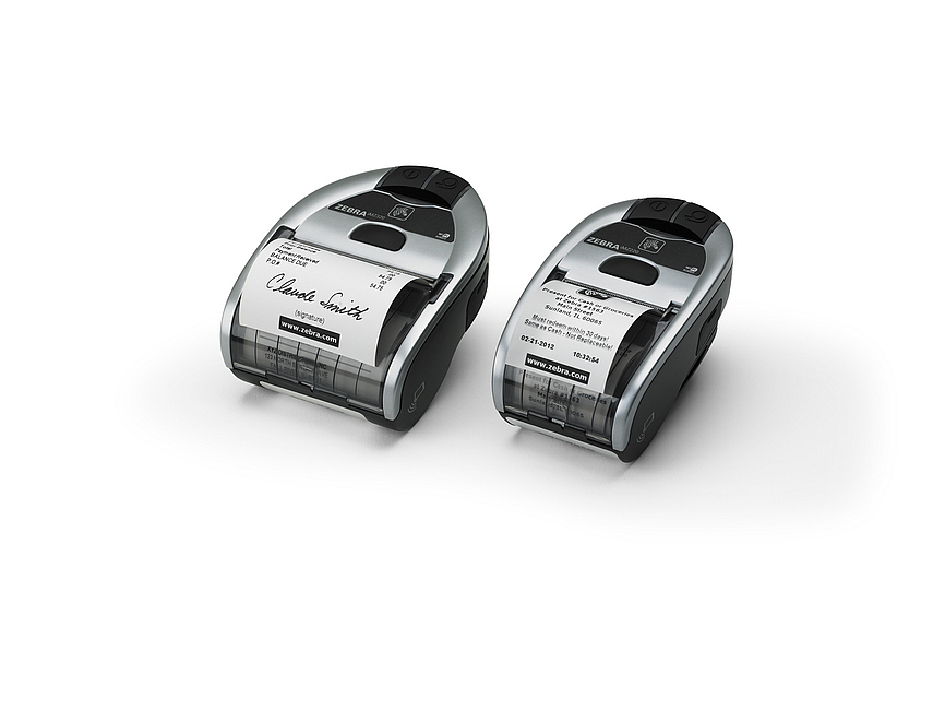 Zebra iMZ220 Printer - 203dpi Direct Thermal Mobile Receipt Printers