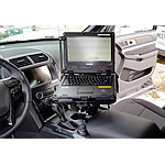 Image of a Havis Vehicle Dock / Cradle for Getac K120 Laptop in Cabin
