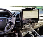 Image of a Havis Vehicle Dock / Cradle for Getac K120 Tablet in Cabin