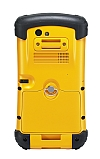Image of a Getac PS236 Fully Rugged Handheld Yellow Back