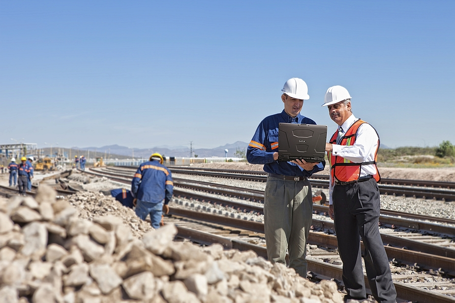 Getac S410 and railway