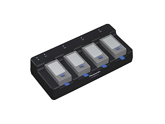 Image of a Panasonic 4-Bay Battery Charger CF-VCBU11U