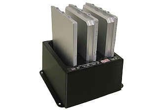 Image of a Lind 3-Bay Battery Charger for FZ-G1 PCPE-LNDG1CE