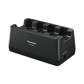 Image of a Panasonic 4-Bay Battery Charger for Toughbook FZ-55 FZ-VCB551E