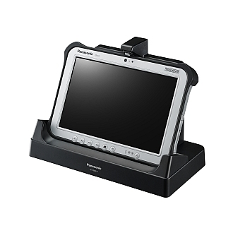 Image of a Panasonic Desktop Port Replicator for the Toughpad FZ-G1 FZ-VEBG11U