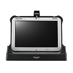 Image of a Panasonic Desktop Port Replicator for Toughpad FZ-G1