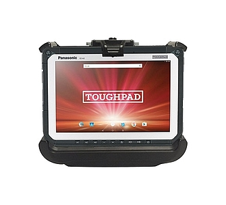 Image of a Gamber-Johnson Slim Vehicle Dock for Toughpad FZ-A2 and Toughbook CF-20 Tablet PCPE-GJA2V01/5