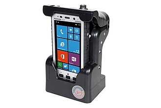 Image of a Gamber-Johnson Vehicle Dock for Toughpad FZ-E1 and FZ-X1 PCPE-GJE1VM1