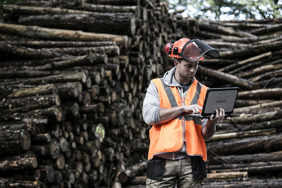 Panasonic Toughbook CF-20 and Forestry