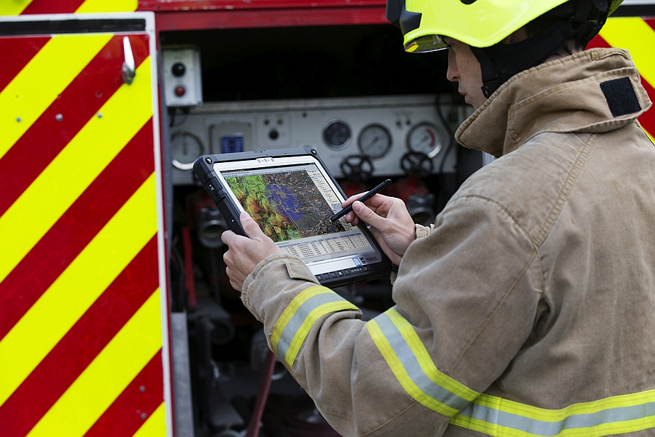 Panasonic Toughbook CF-33 and Fire and Rescue