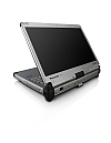 Image of a Panasonic Toughbook CF-C2 with screen rotated