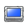 Image of a Panasonic Toughbook CF-U1 Face On