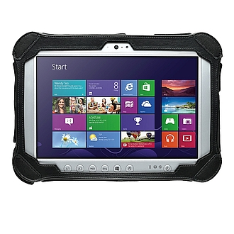 Image of a Panasonic Toughpad FZ-G1 ATEX certified tablet