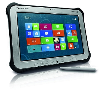 Image of a Panasonic Toughpad FZ-G1