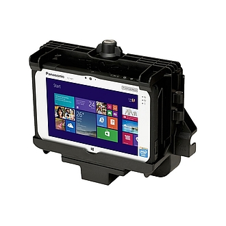 Image of a Gamber-Johnson Standard Vehicle Dock for Toughpad FZ-M1 PCPE-GJM1V01/2