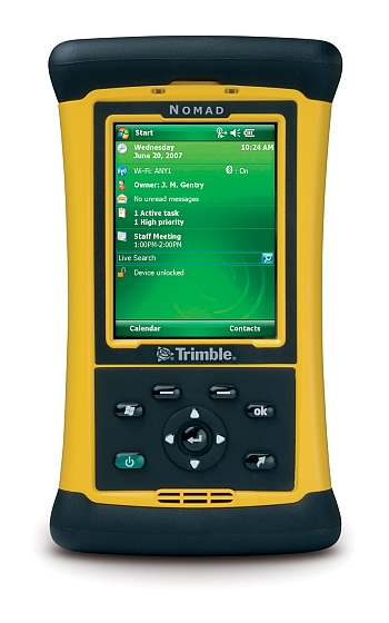 Image of a Trimble Nomad Rugged Handheld Computer